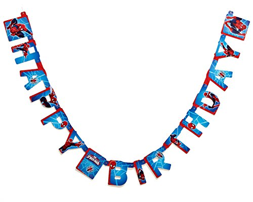 Spider-Man Birthday Party Banner, Party -