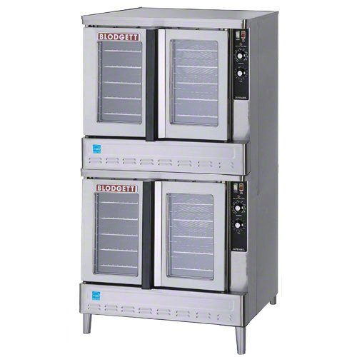 Blodgett Gas Convection Oven - Double Stack Ovens - Deep Depth Ovens