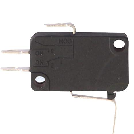 Refaxi Micro Interruptor Flotador Bola de Agua Calentador Pie Interruptor Masajeador Soldadura Linterna