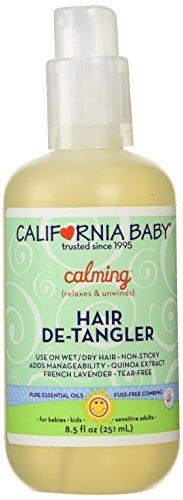 De-Tangler Spray 9 Ounces by California Baby California Baby Hair Detangler Spray