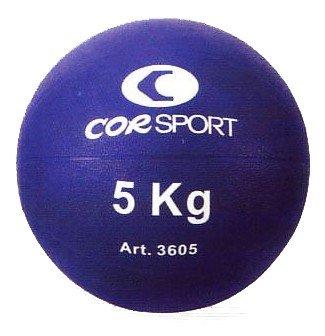 Balón medicinal Cor Sport de 5 kg con Grip: Amazon.es: Deportes y ...