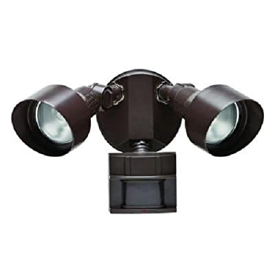 Defiant 110 Degree Outdoor Bronze Motion Security Light