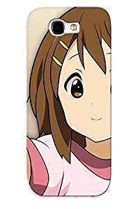 New Fashionable Mooseynmv Pcznhfu325NYHzL Cover Case Specially Made For Galaxy Note 2(yui Hirasawa Kon)