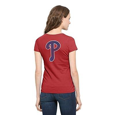 MLB Women's Flanker MVP V-Neck Tee