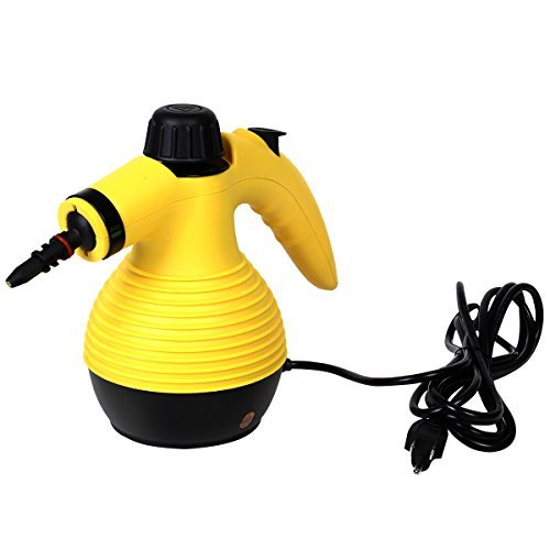 Multifunction Portable Steamer Household Steam Cleaner 1050W W/Attachments by Goplus