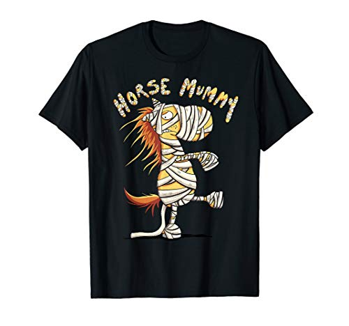Horse And Rider Halloween Ideas (Funny Halloween Horse Mummy For Horse Moms I Fun )