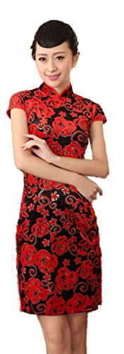 avacostume-womens-pleuche-chinese-classical-cap-sleeve-qipao-red-dress-size-us-10