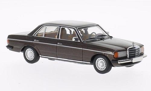 Mercedes 280 E (W123), met.-braun , 1976, Modellauto, Fertigmodell, Minichamps 1:43