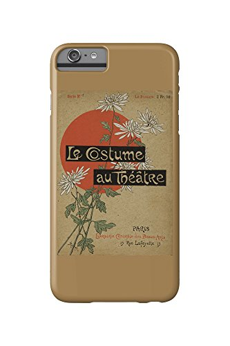 Theatre Costume Design Portfolio (Le Costume au Theatre (portfolio, cover) Vintage Poster (artist: Steinlen and Mesples) France c. 1899 (iPhone 6 Plus Cell Phone Case, Slim Barely There))