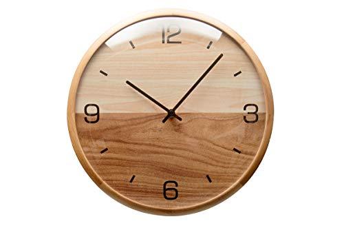 Driini Analog Dome Glass Wall Clock (12