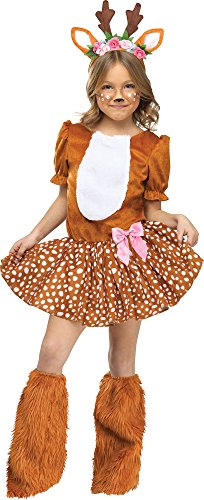 Dance Moms Zombie Dance Costumes - Fun World Oh Deer! Costume, Large 12-14,