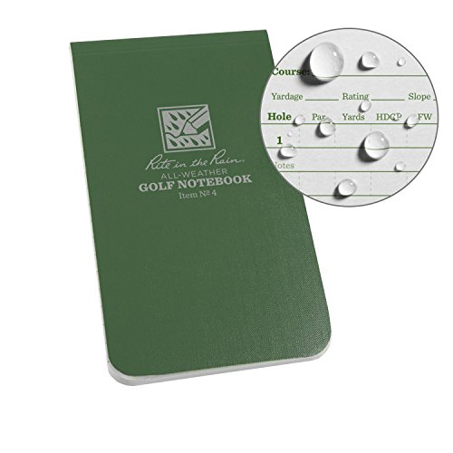 Rite in the Rain All Weather Golf Notebook, 3.5