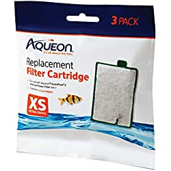 Aqueon QuietFlow Filter Cartridge, X-Small, 3-Pack