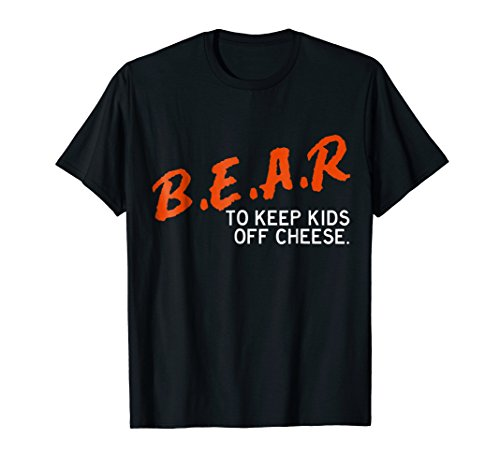 Chicago Football Shirt - B.E.A.R. off the CHEESE Funny DARE