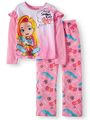 Sunny Day Doll Girls Pajamas Long Sleeve Shirt Fleece Pants Stylin Pjs 2 Pc (4/5)