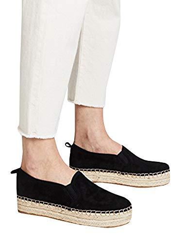Womens Flatforms Sandals Studded Summer Espadrille Platforms ()