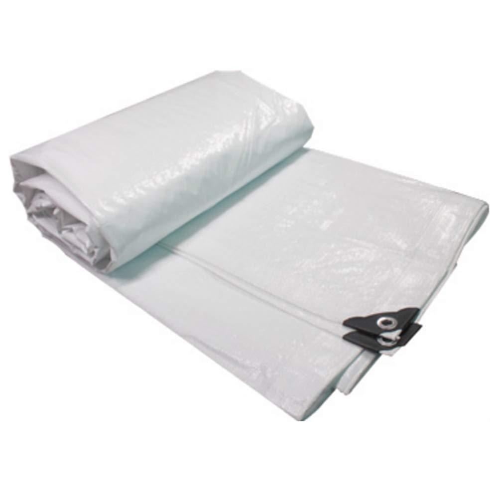 Tarpaulin NAN Plane Outdoor Visier Wasserdichtes Tuch wasserdicht Sonnenschutz LKW Öl Leinwand Shelter Tuch Wärmedämmung 0,35 mm -180g / m² (größe : 5X 6m)