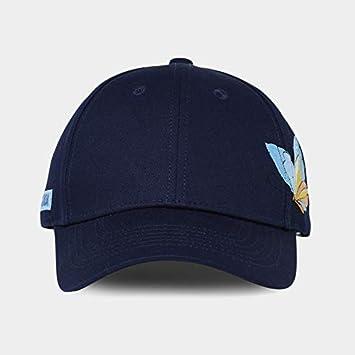 Toruiwa Unisex Kappe mit Stickerei Schmetterling Decor Baseball Cap Verstellbar M/ütze UV-Schutz Hip Hop Hut Sonnenhut f/ür Herren und Damen Sommer