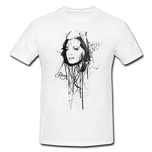 Romy-Schneider T-Shirt Herren, Men mit stylischen Motiv von Paul Sinus