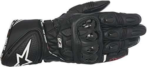Alpinestars GP Plus R Leather Motorcycle Race Gloves Black LG