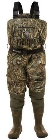 Frogg Toggs 2711956-10 Grand Refuge Breathable & Insulated Camo Chest Wader, Realtree Max