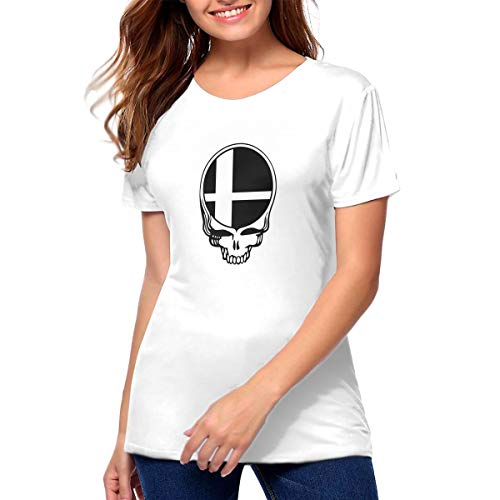 Smash Your Face Super Smash Bros Women Crew Neck Short Sleeve Blouse Tops XL White
