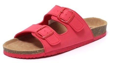 TREND Damen Clogs Tieffußbett Pantolette Sandale Slipper Schuhe Bequemschuhe SUMMER RED Gr. 38-41