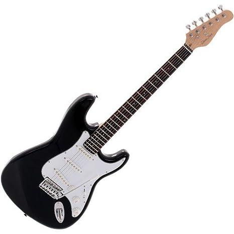 Korn Denis Freedom - Guitarra eléctrica, color negro: Amazon.es: Instrumentos musicales