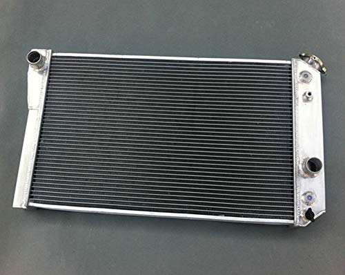 Chevy S10 V8 - Aluminum radiator for Chevrolet Chevy S10 (W/ V8 Conversion) AT/MT 1982-2002