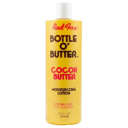 Red Cocoa (Red Fox Bottle O Butter Cocoa Butter Moisturizing Lotion, 16 Ounce)