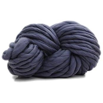 100% non-mulesed Chunky lana ovillo de lana para manta/sombrero ...