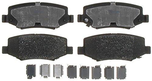 ACDelco 14D1274CH Advantage Ceramic Rear Disc Brake Pad Set