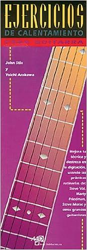 STIX y ARAKAWA - Ejercicios de Calentamiento para Guitarra ...