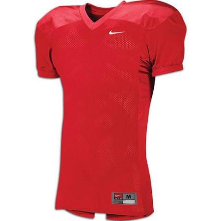 NIKE Men's Defender/ Destroyer Football Game Jersey - Red/ Cardinal - LARGE Nike Cardinal Football Jersey