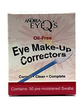 Andrea Eye Qs Make-Up Correctors Swabs 50s (3-Pack) with Free Nail File Wei East Golden Root Renewal Daily Restoration Wear Kit ~ Pads & Serum