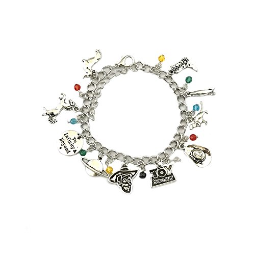 Toy Story Outfits For Adults (Athena Brand Movie Cartoon Toy Story Charm Bracelet In Gift Box)