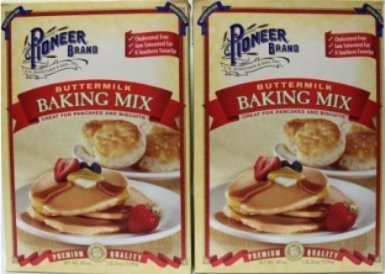 Pioneer Buttermilk Biscuit & Baking Mix 40 Oz [Pack of 4]