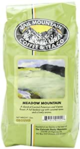 Vail Mountain Coffee & Tea Meadow Mountain Blend Ground Coffee, 12-Ounce Bags (Pack of 3)