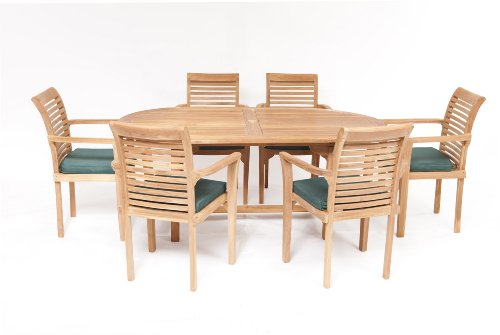 Teak Garden Furniture 13 Piece