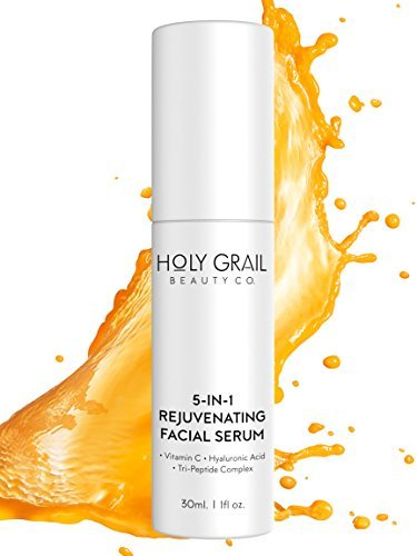 Vitamin C Facial Serum with Hyaluronic Acid & Peptide Comple