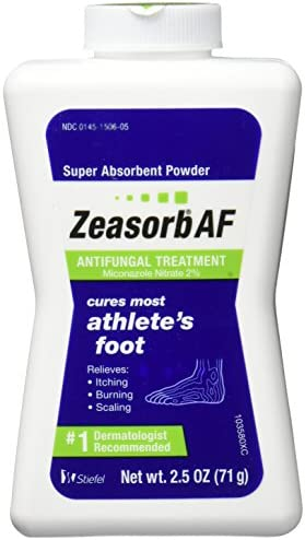 Zeasorb Antifungal Powder Treatment Athletes product image