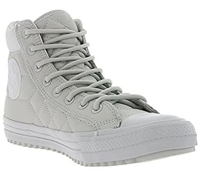 Converse Chuck Taylor All Star Boot PC Hi Ash Grey/Ash Grey/Black (6 B(M) US Women/4 D(M) US Men)