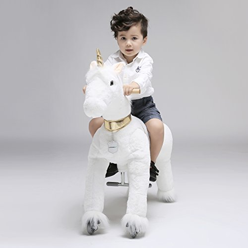 UFREE Horse Action Pony, Ride on Toy, Mechanical Moving H...