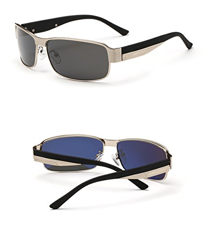 Des Hommes à Soleil soleil de de des de Soleil de Lunettes intérieur 3 polariseur Couleur Lunettes lunettes Lunettes Mode Pilote 4 conduisant revêtement ar4qxaO