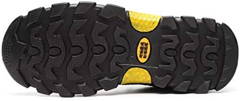 トレーナーアンチバックパッキングバイク軽量旅行オールシーズンウォーキングのための軽量のシューズスニーカースリップメンズシューズをハイキング (Color : Gray, Size : 37)