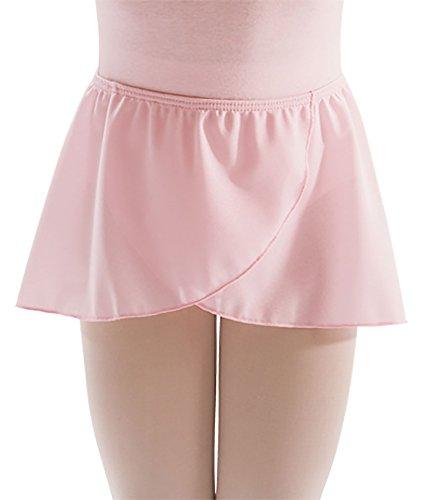 Motionwear Wrap (Motionwear Pull-On Wrap Sheer Skirt, Ballet Pink Crepe, Child Small - SC)