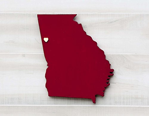 georgia-state-shape-wood-cutout-sign-wall-art-16-tall-20-paint-colors-personalized-with-choice-of-wo