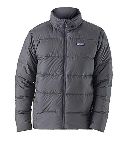 Patagonia Men's Silent Down Jacket Forge Gray XXL