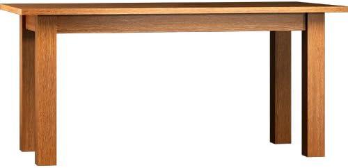 Mesa 120 cm con tablas de 2 x 30 cm, extensible hasta 180 cm; Real ...