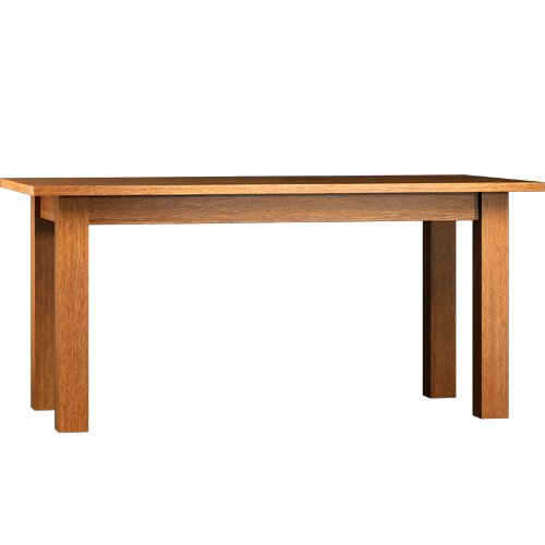 Tisch 160 cm mit Ansteckplatten 2x40 cm, ausziehbar bis 240 cm; Echtholz; Naturwachs